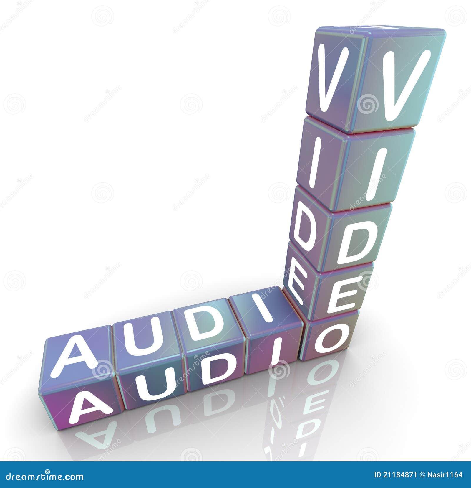 Audio video crossword
