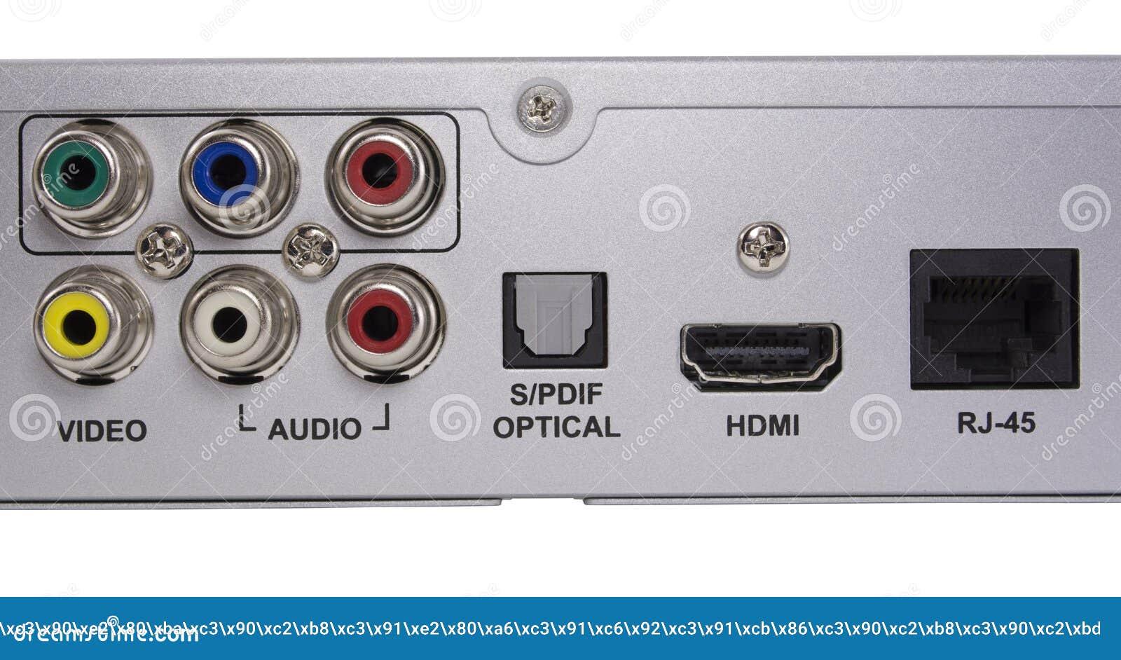 Audio video Inputs