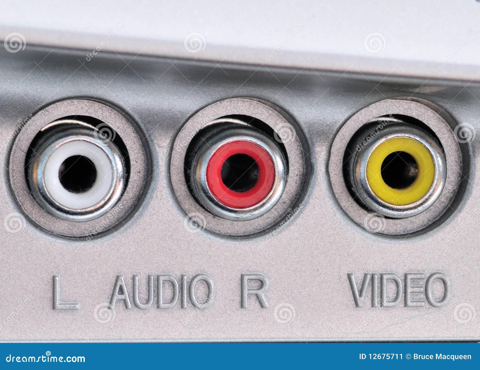 Audio Video Jacks