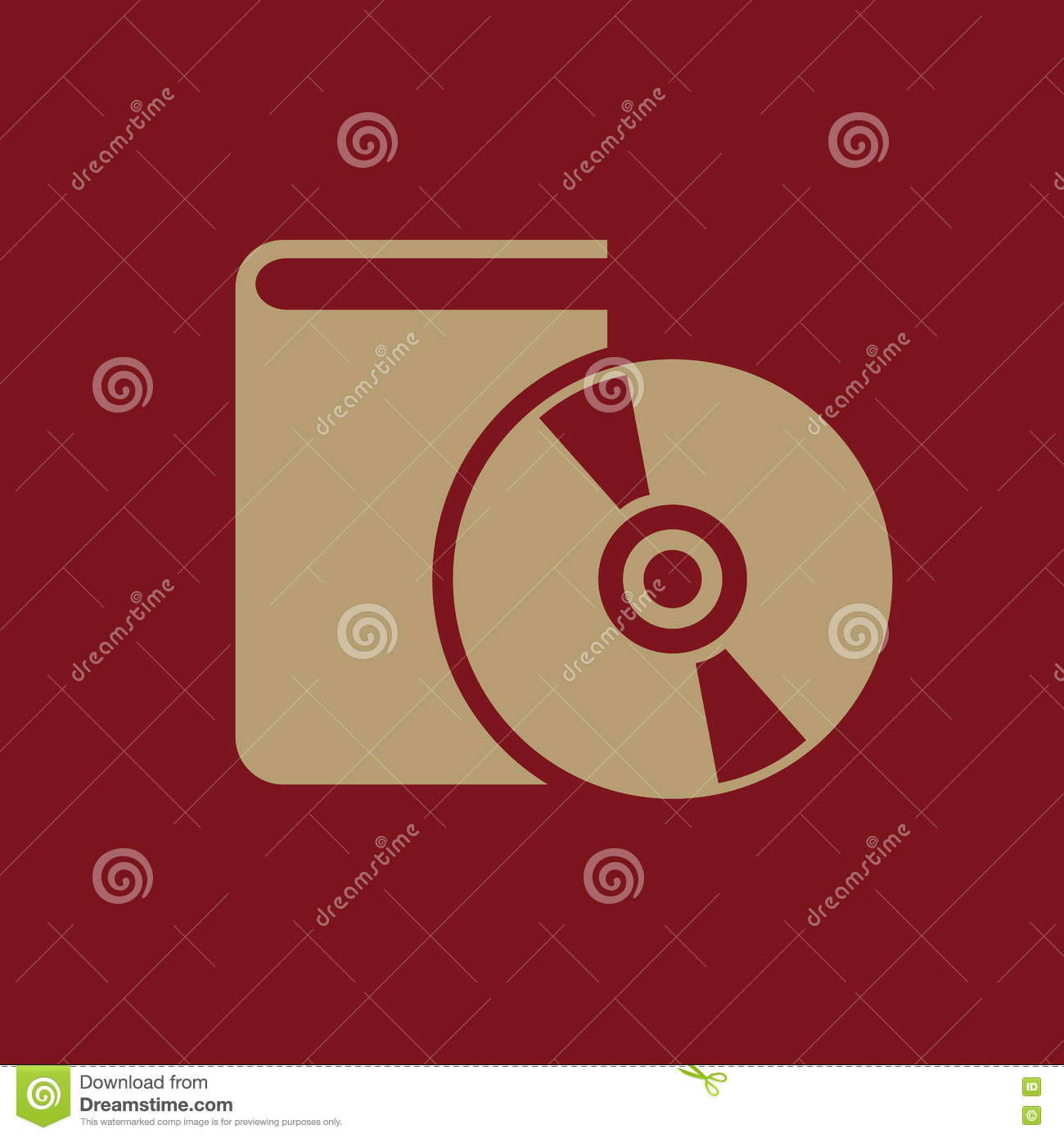 Audiobook icon. vector design. Library, Audiobook symbol. web. graphic. JPG. AI. app. logo. object. flat. image. sign