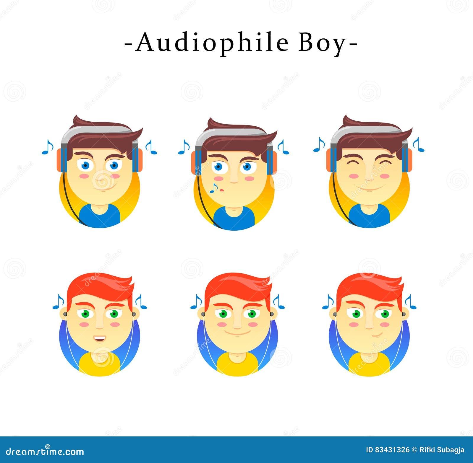 Audiophile Junge
