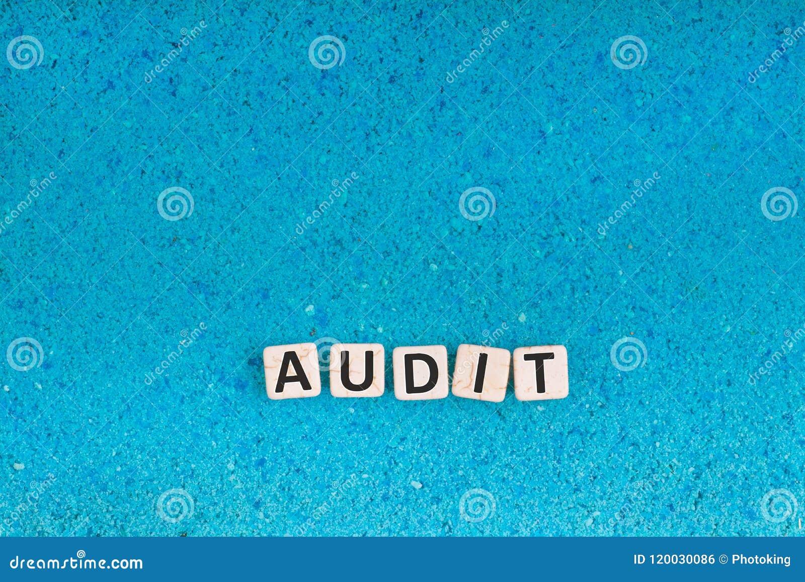 Audit word on stone
