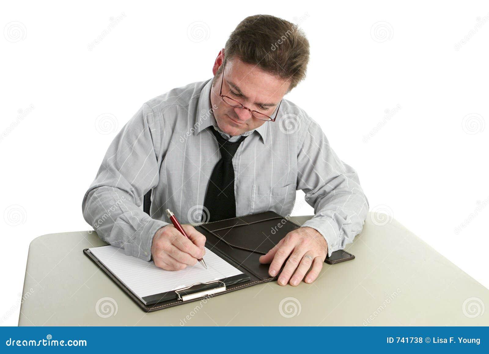 Auditor die - Nota s neemt