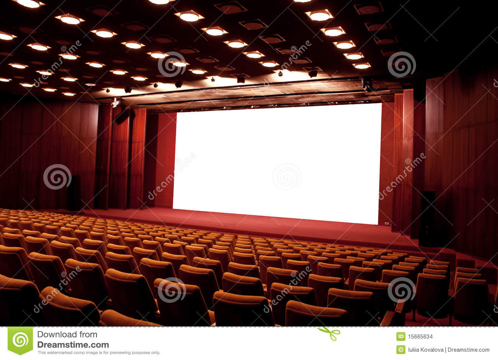 Auditorio del cine