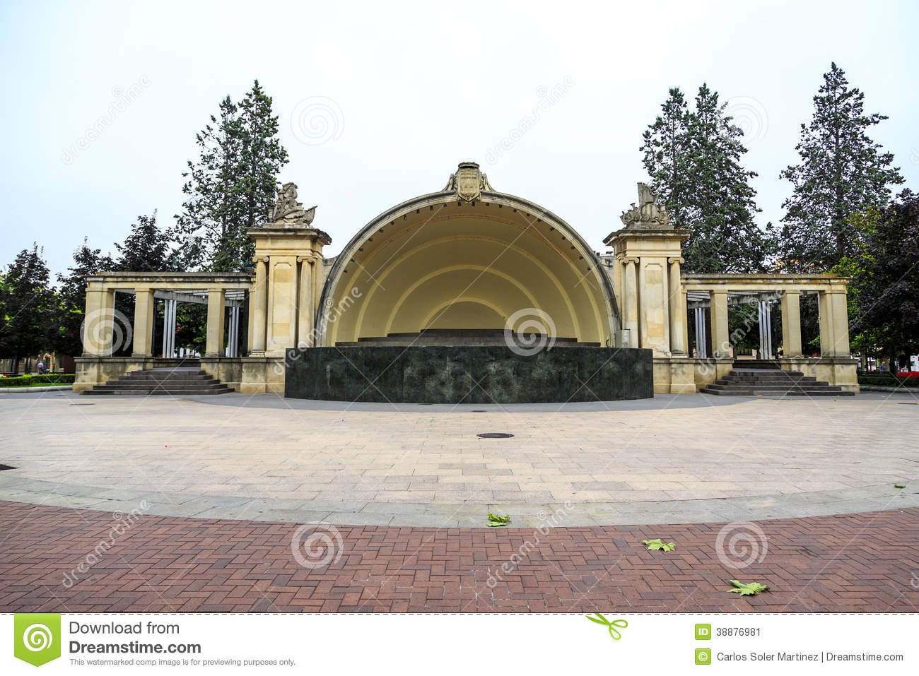 The Auditorium Of Logroo Spain Stock Image Image Of Significance