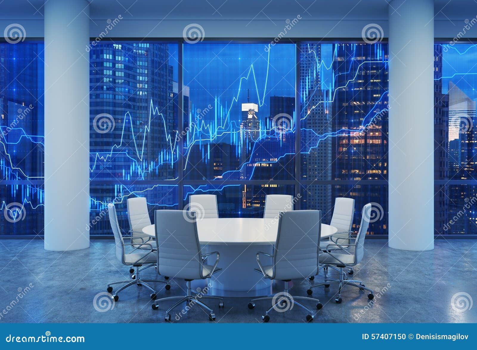 auditorium panoramico in ufficio moderno paesaggio urbano