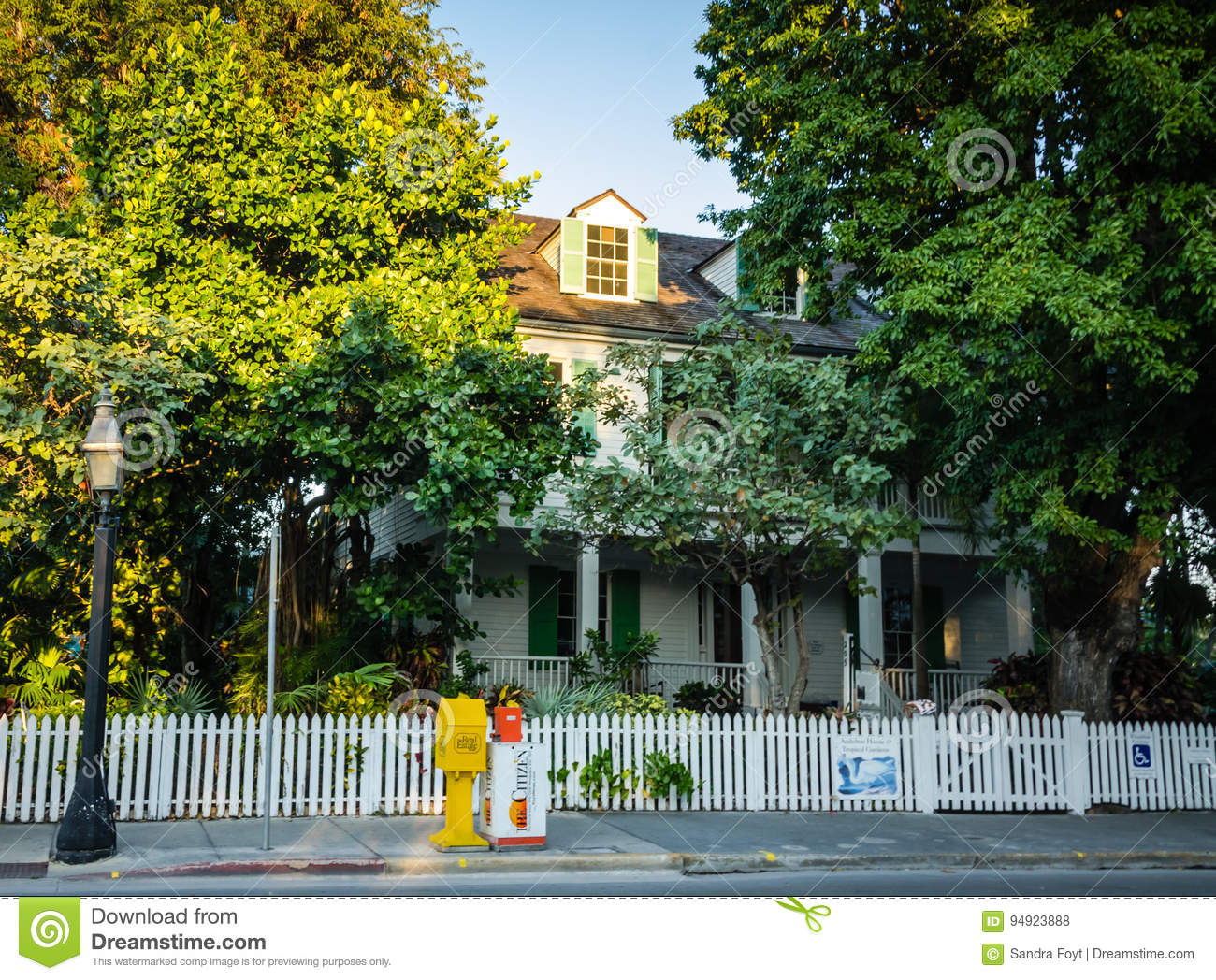 Download Audubon House And Tropical Gardens   Key West, Florida Editorial  Stock Photo   Image