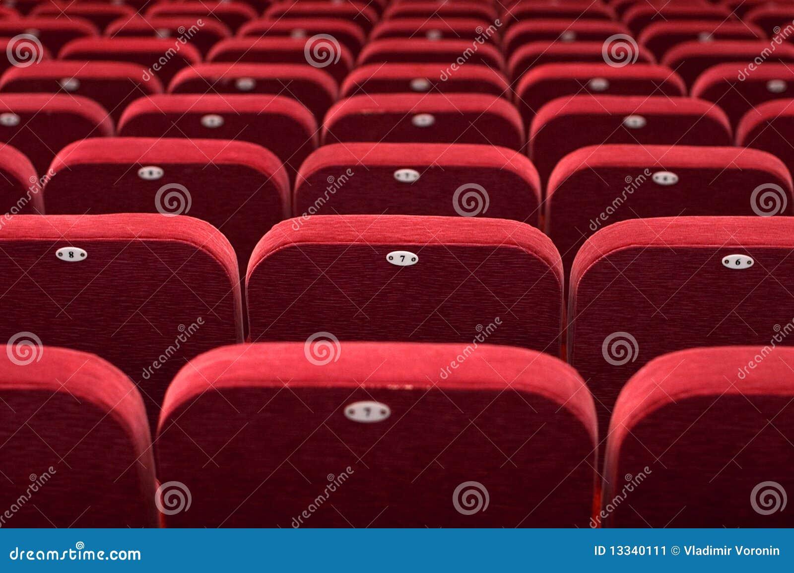 Audytorium kinowej konferenci pusty sala theatre