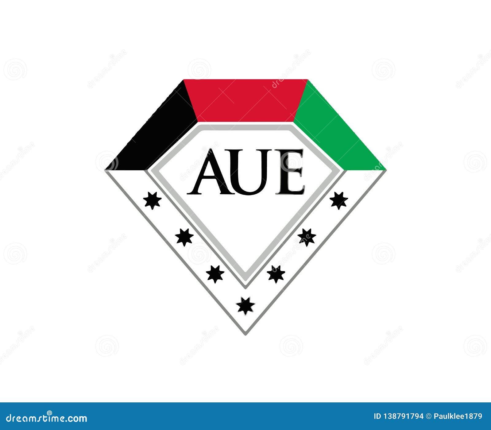 AUE, universidade americana nos emirados Logo Vetora