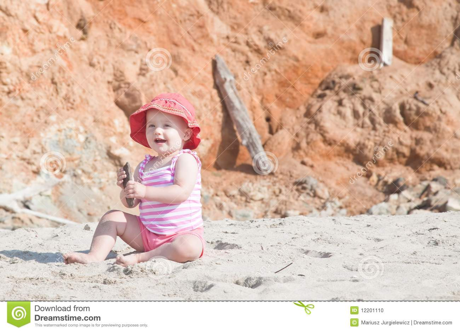 Auf dem Strand