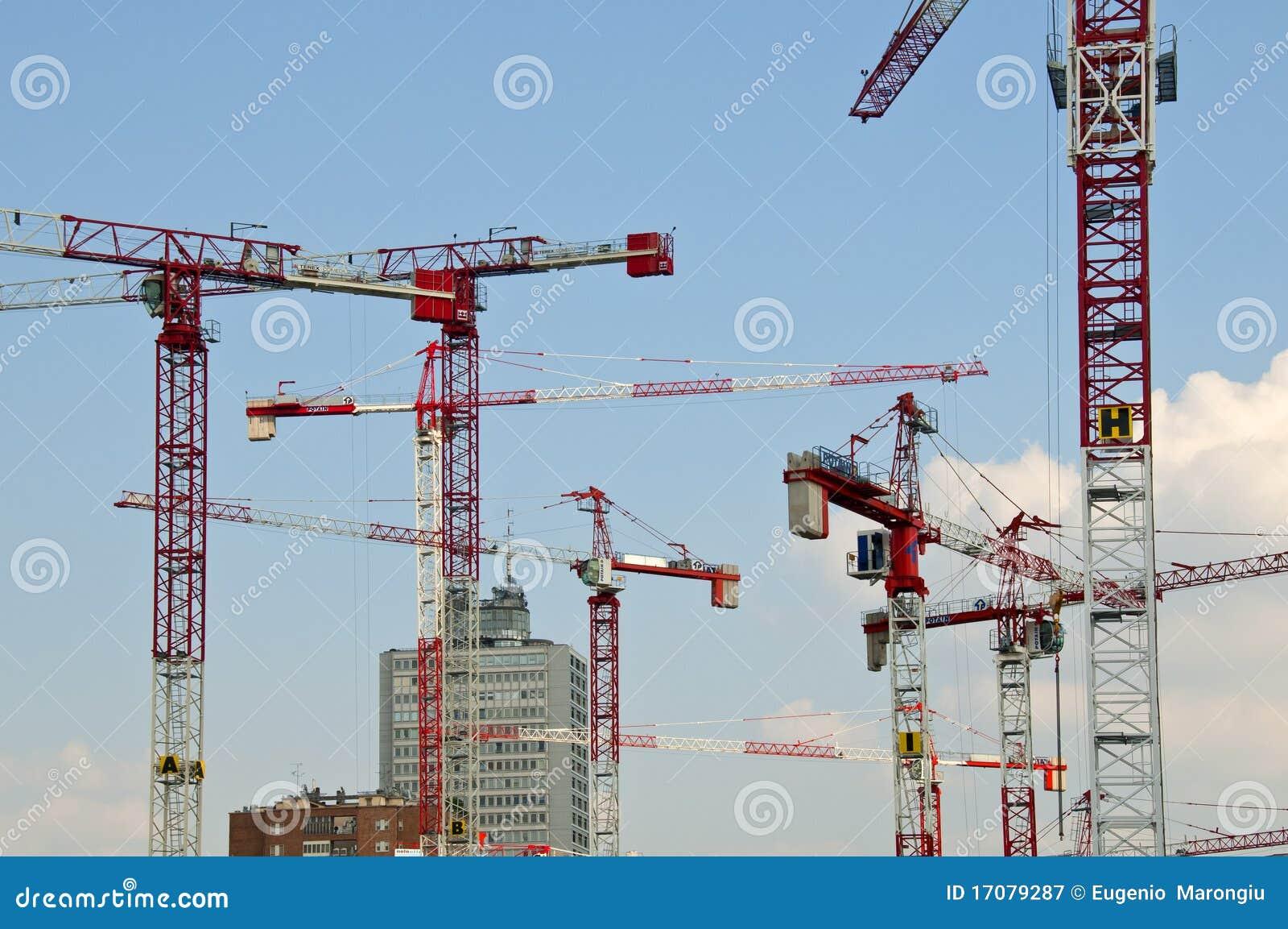 Aufbau Bereich im Mailand-Garibaldi