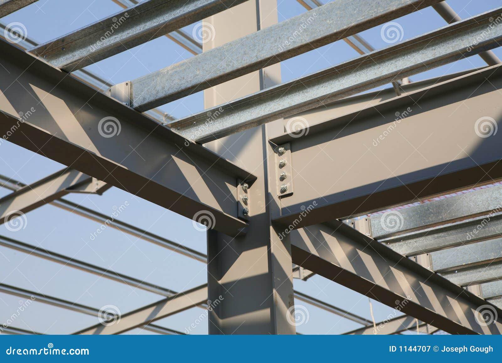 Aufbau-Stahlwerk-Feld
