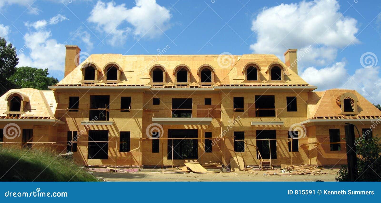 Aufbauen der Villa