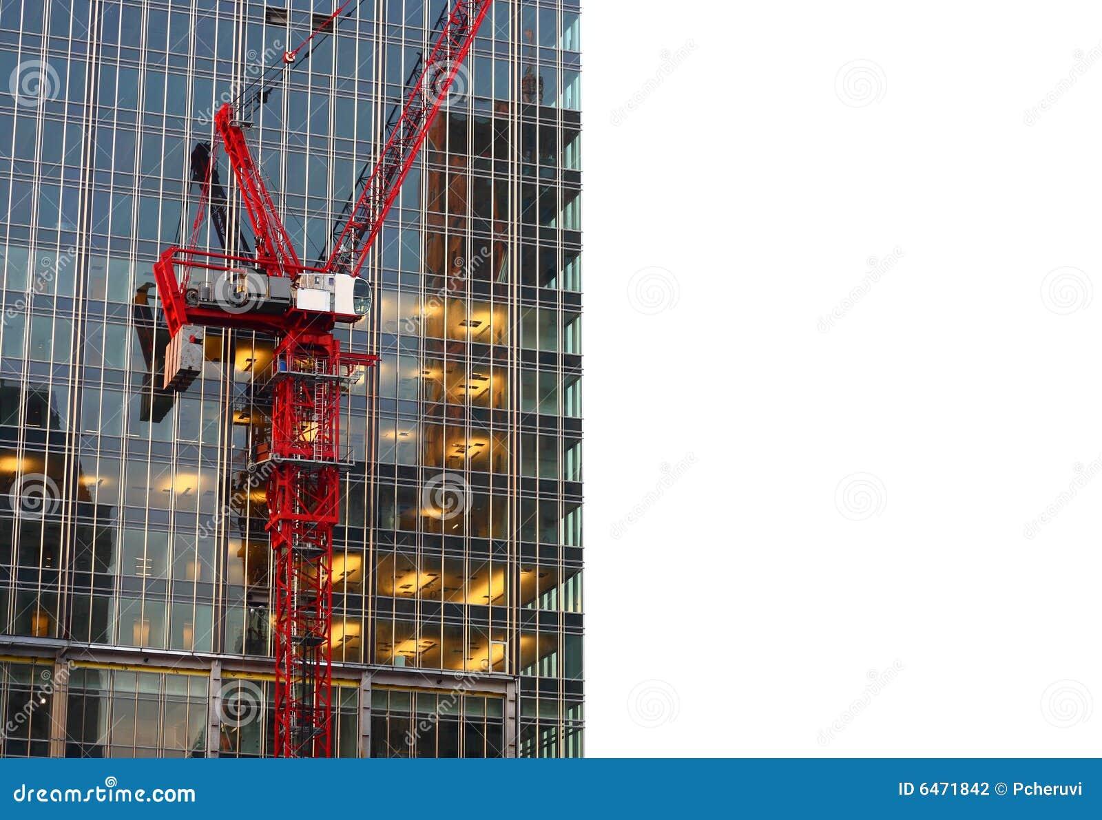 Aufbauen im Bau