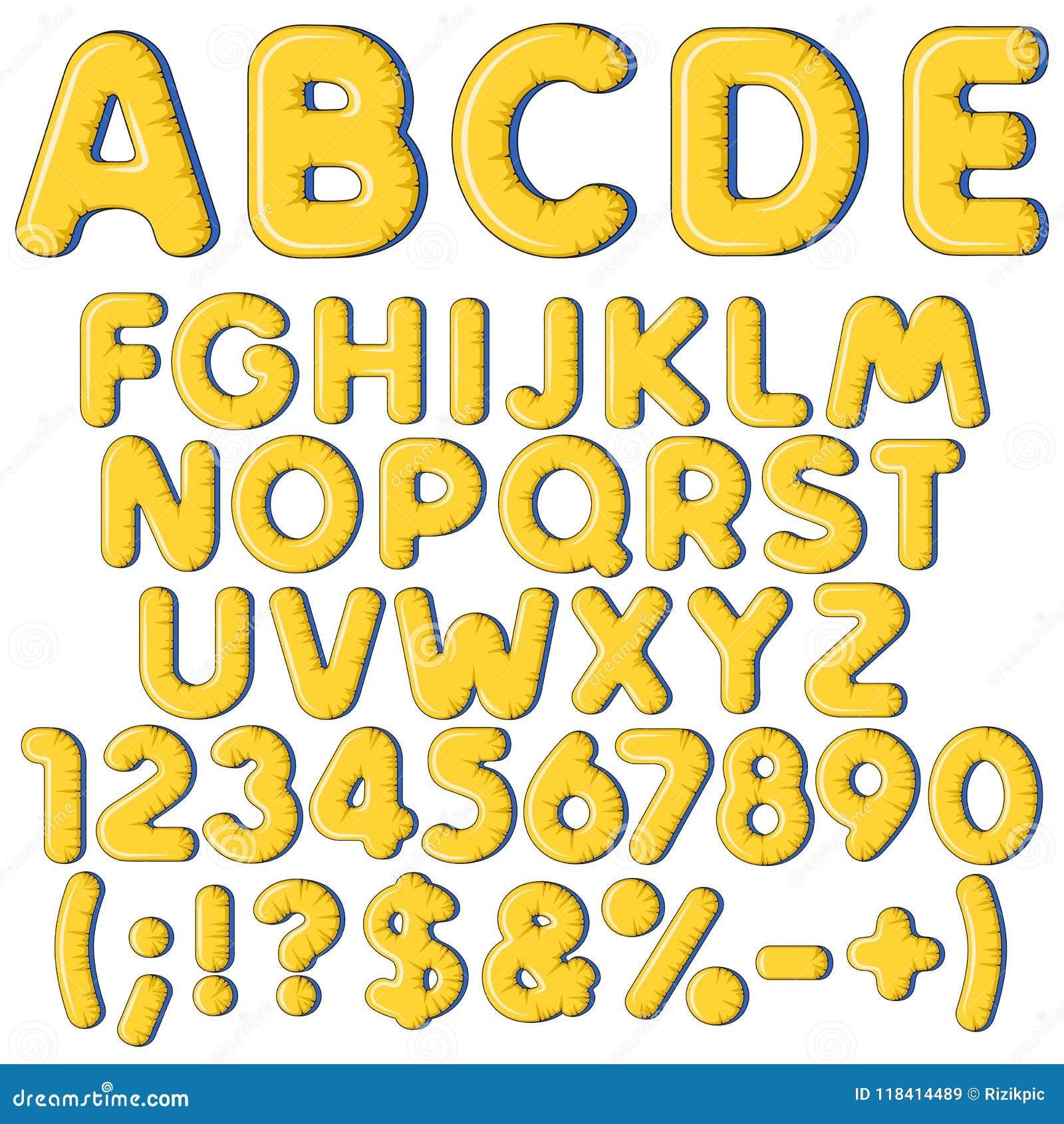 Aufblasbares Alphabet Buchstaben Zahlen Und Zeichen Satz Farbige