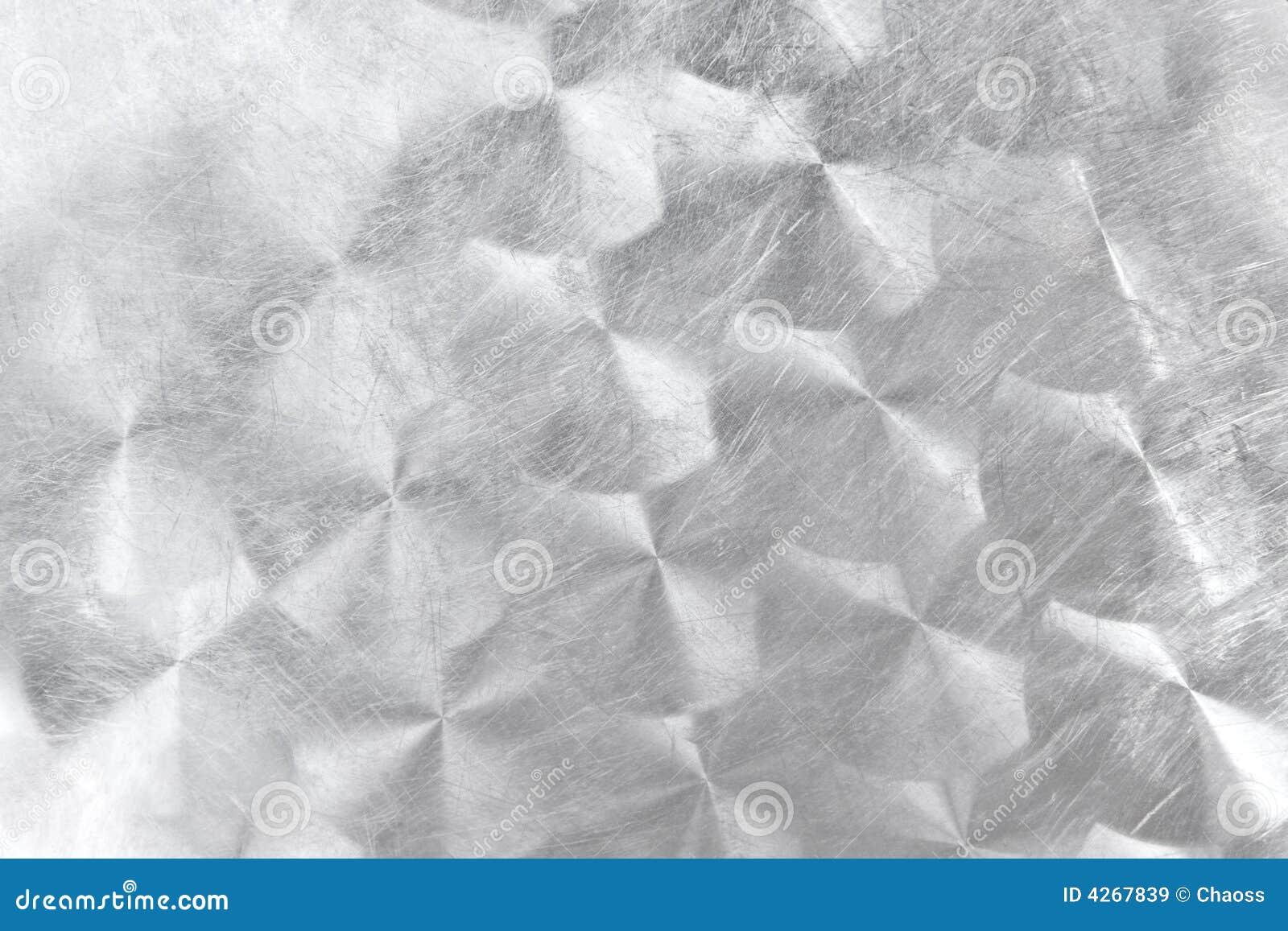 Aufgetragenes Metall mit Kreismuster