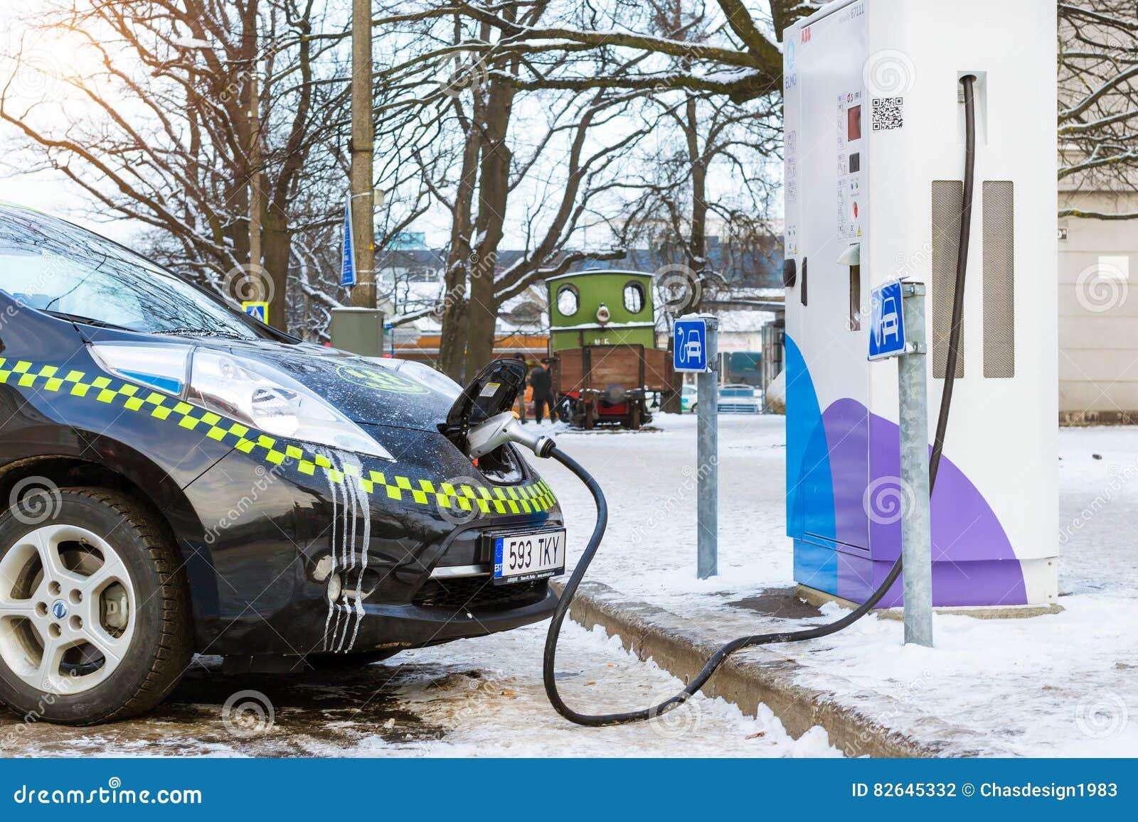 Aufladungsbatterie des Elektrisch-Taxis