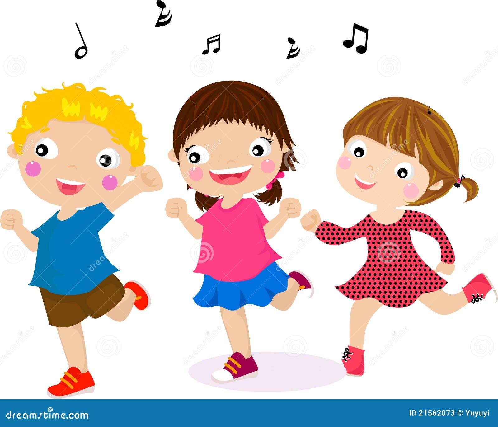 Aufmachung Der Tanzen Kinder Stockfotos Bild 21562073