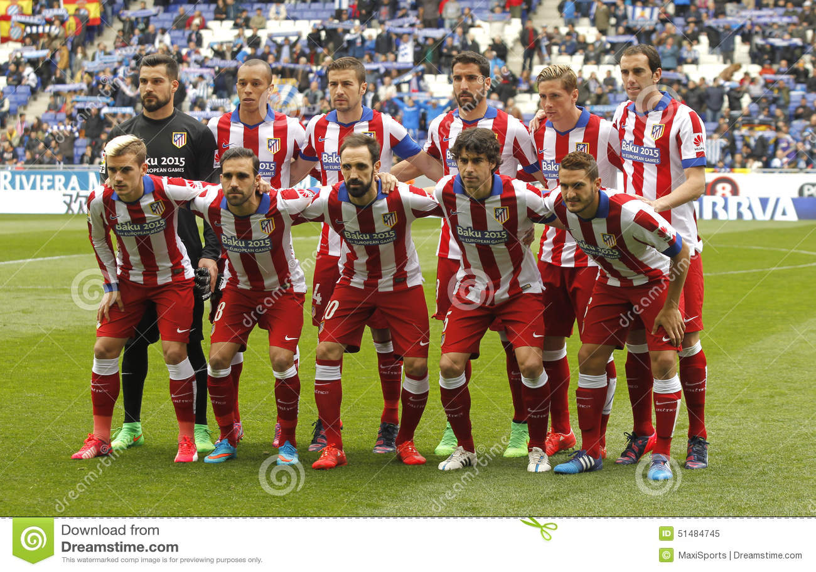 Aufstellung Atletico Des Madrid