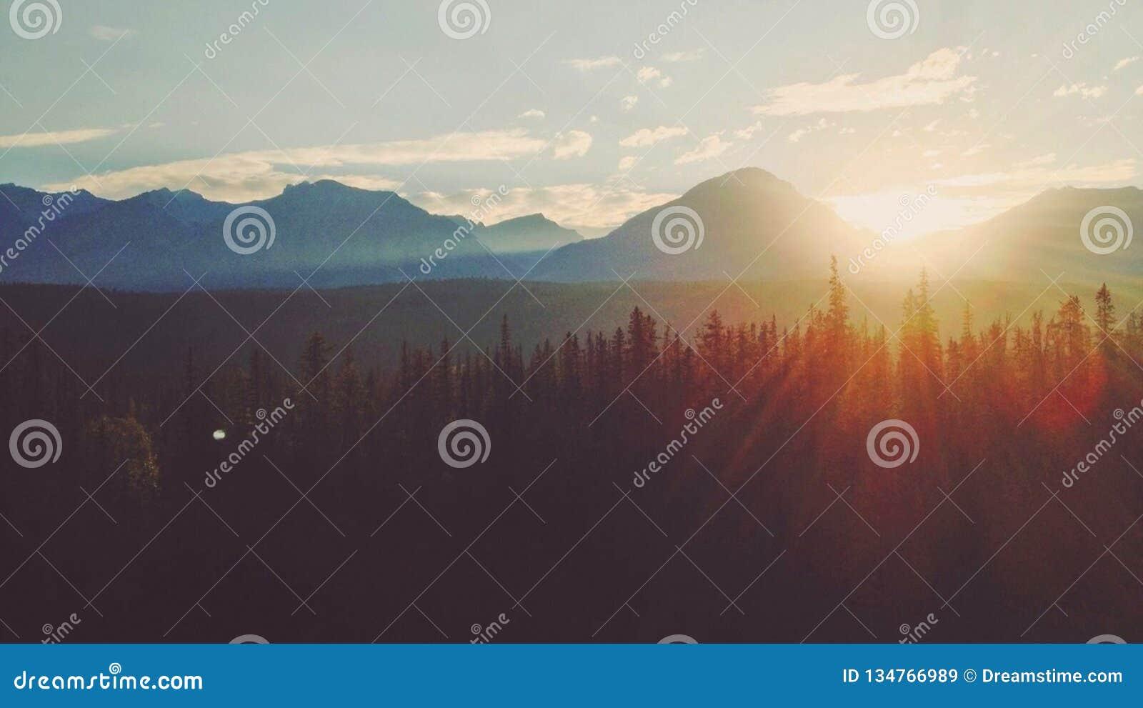 Aufstieg der Berge