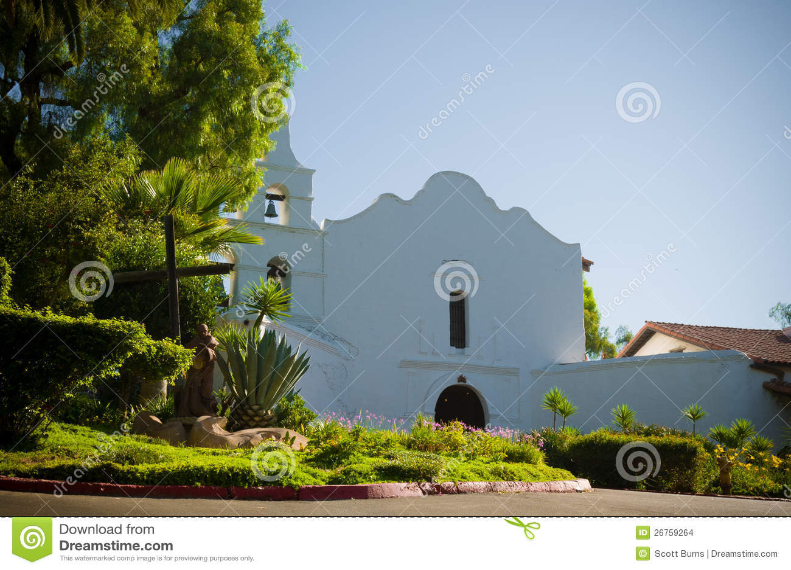 Auftrag-Basilika San Diego de Alcala