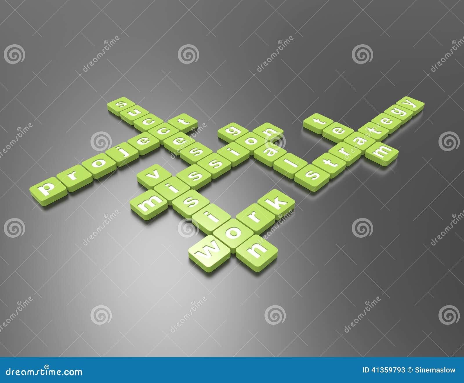 Auftrag Kreuzworträtsel