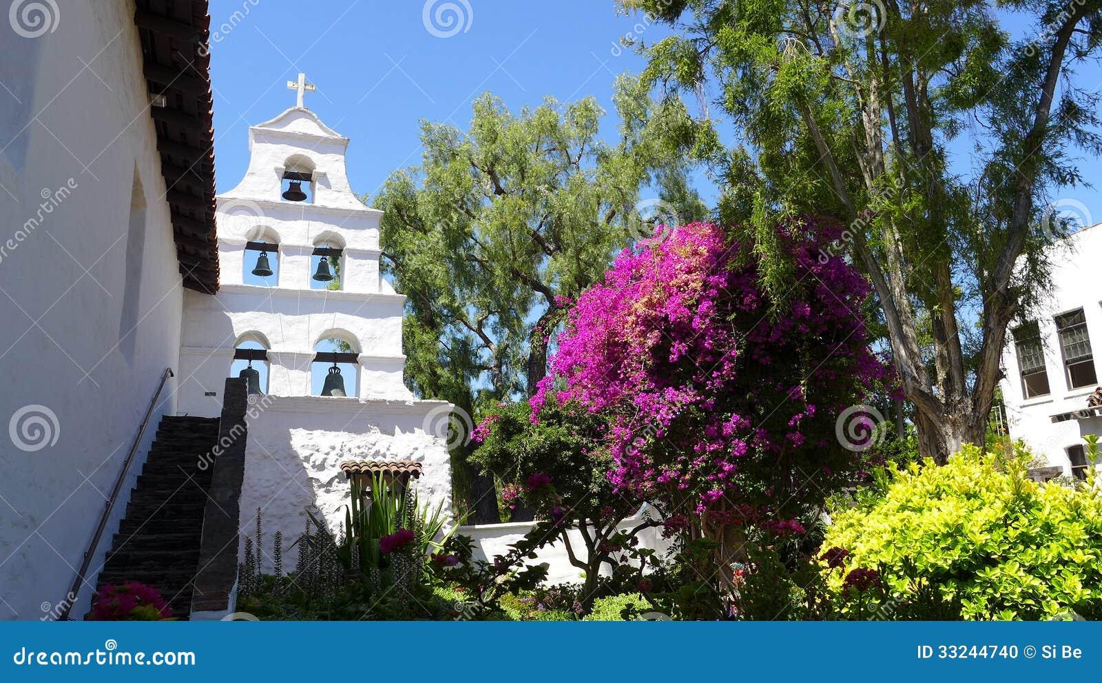 Auftrag San Diego de Alcala Bells u. Garten