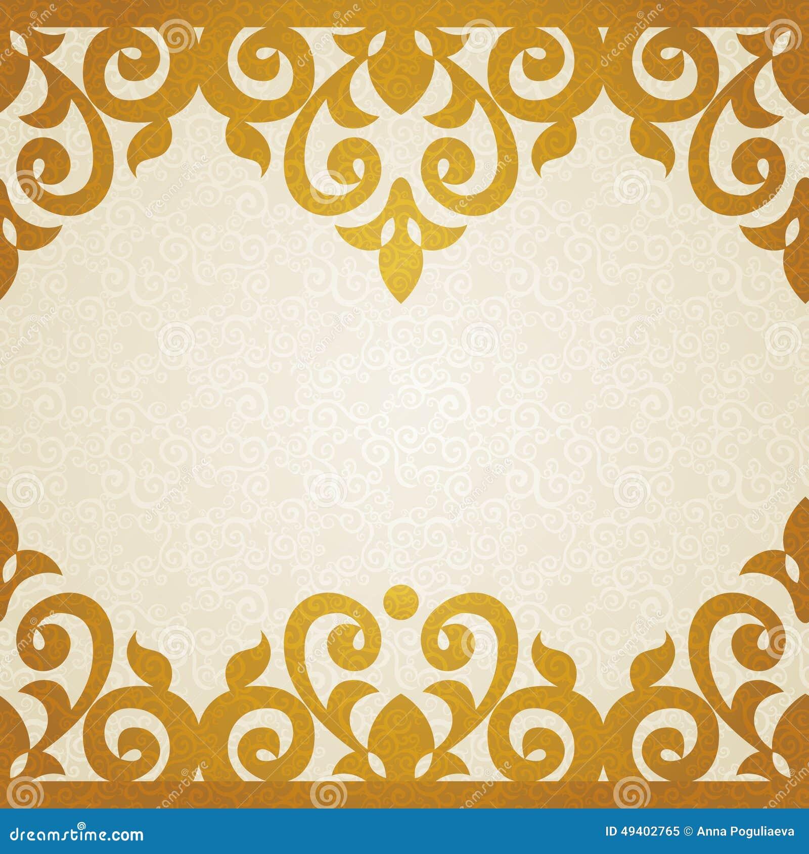 Download Aufwändige Grenze Des Vektors Im Viktorianischen Stil Vektor Abbildung - Illustration von motiv, luxus: 49402765