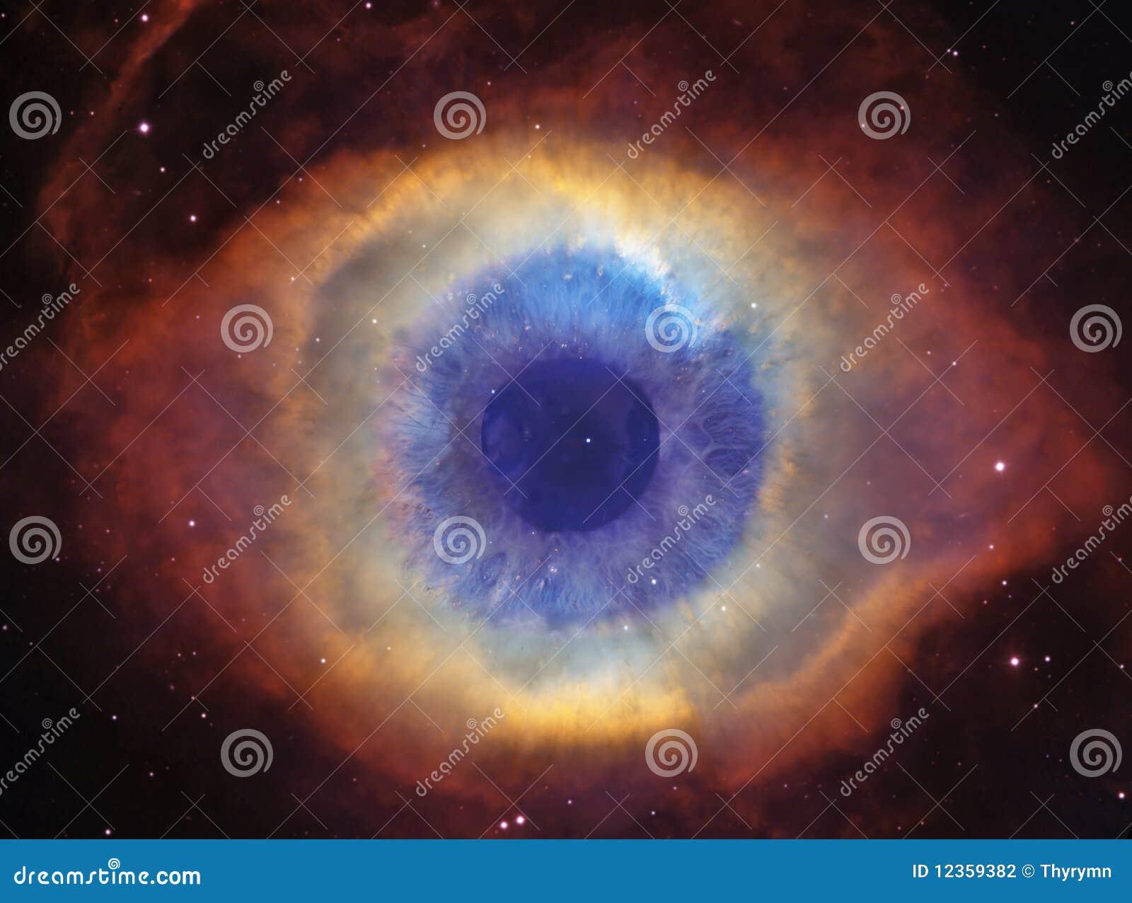 Auge des Gottes (Schneckennebelfleck)