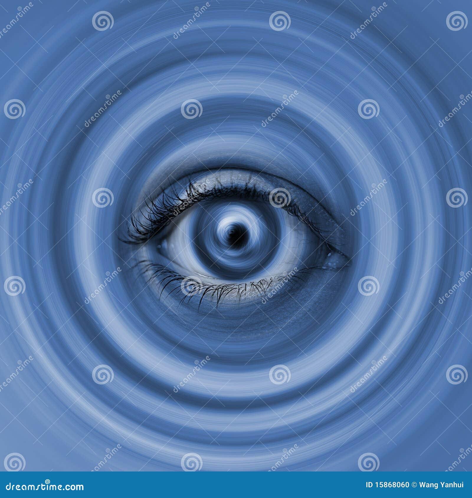 Auge im Strudel