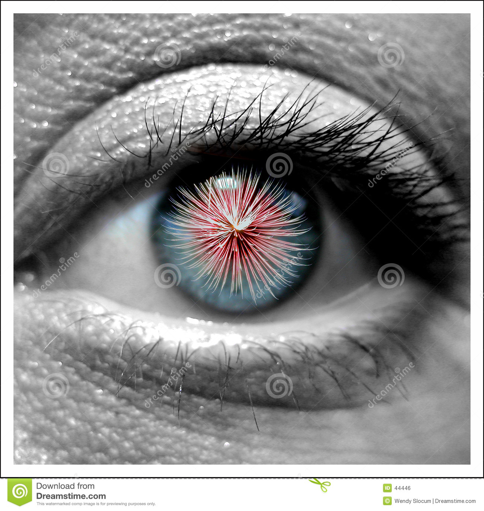 Augen-Arbeiten
