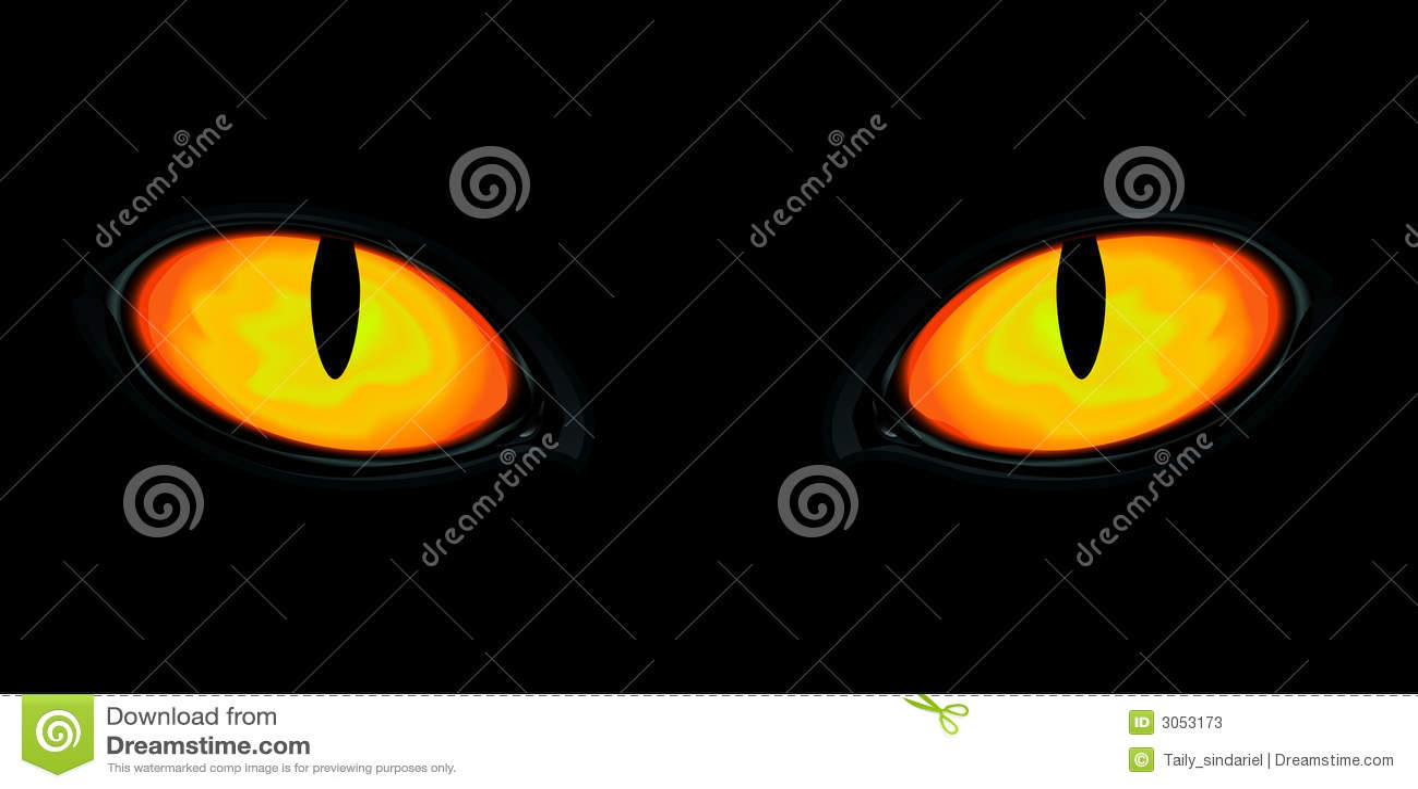 Augen in der Dunkelheit