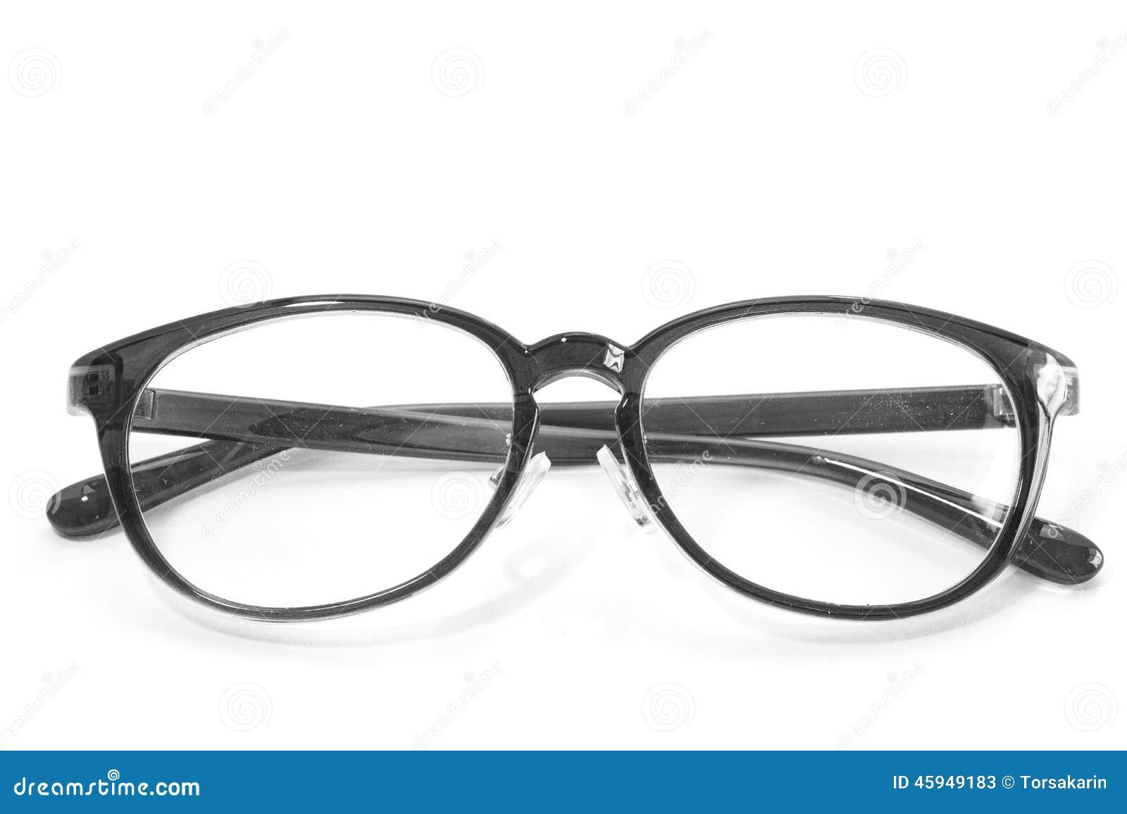 ede0fff528ecb3 Modebrille lokalisiert auf einem weißen Hintergrund