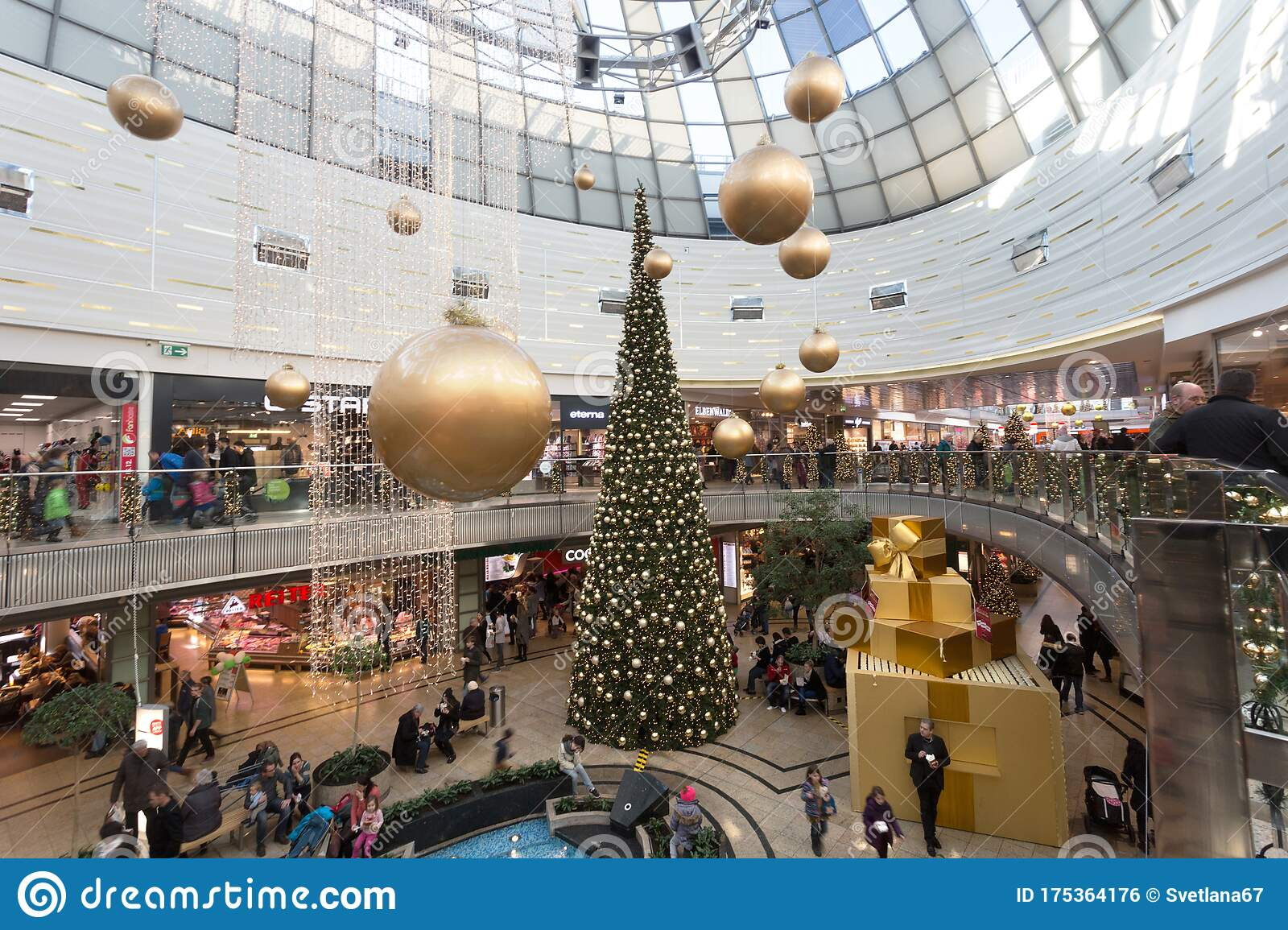 Augsburg City Galerie Mall Editorial Photo Image Of Indoor 175364176