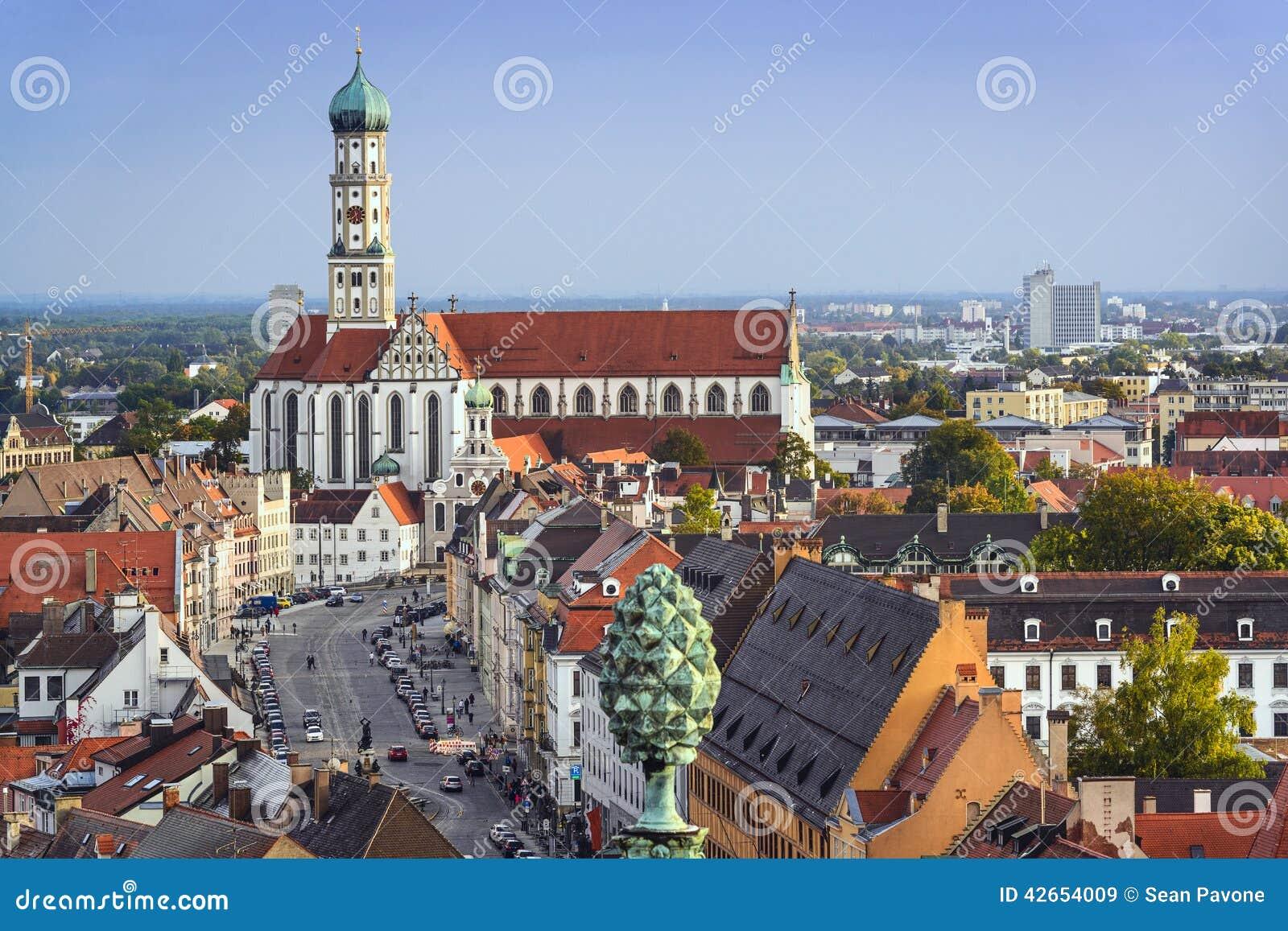 Augsburg, Germany Stock Photo - Image: 42654009