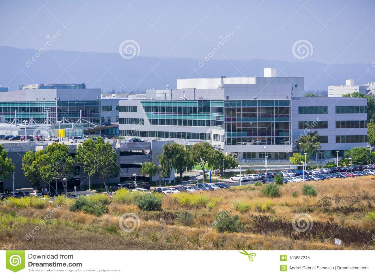 Yahoo Headquarters In Silicon Valley Editorial Image - Image