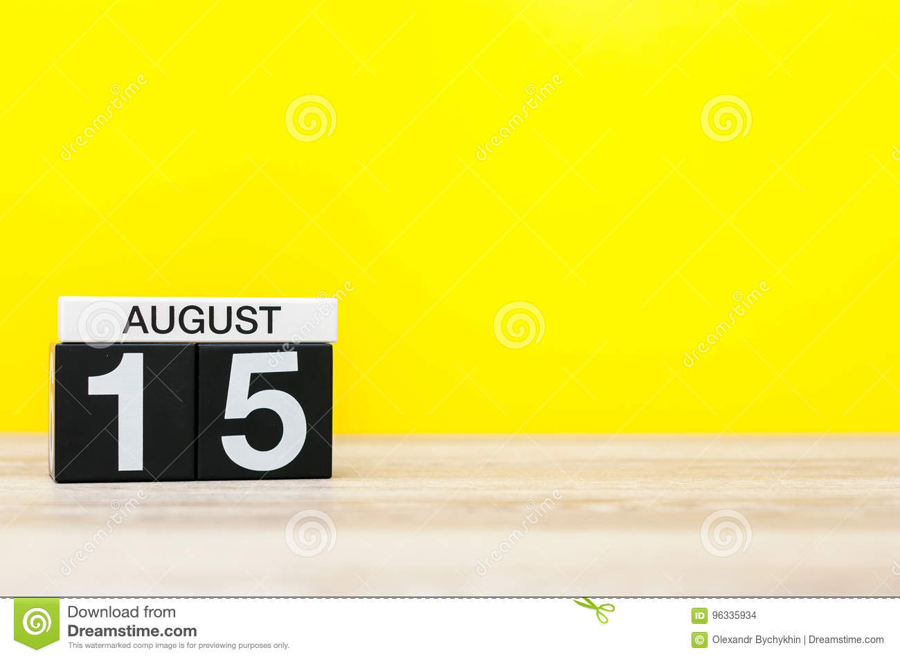 Time Will Tell: August 15th
