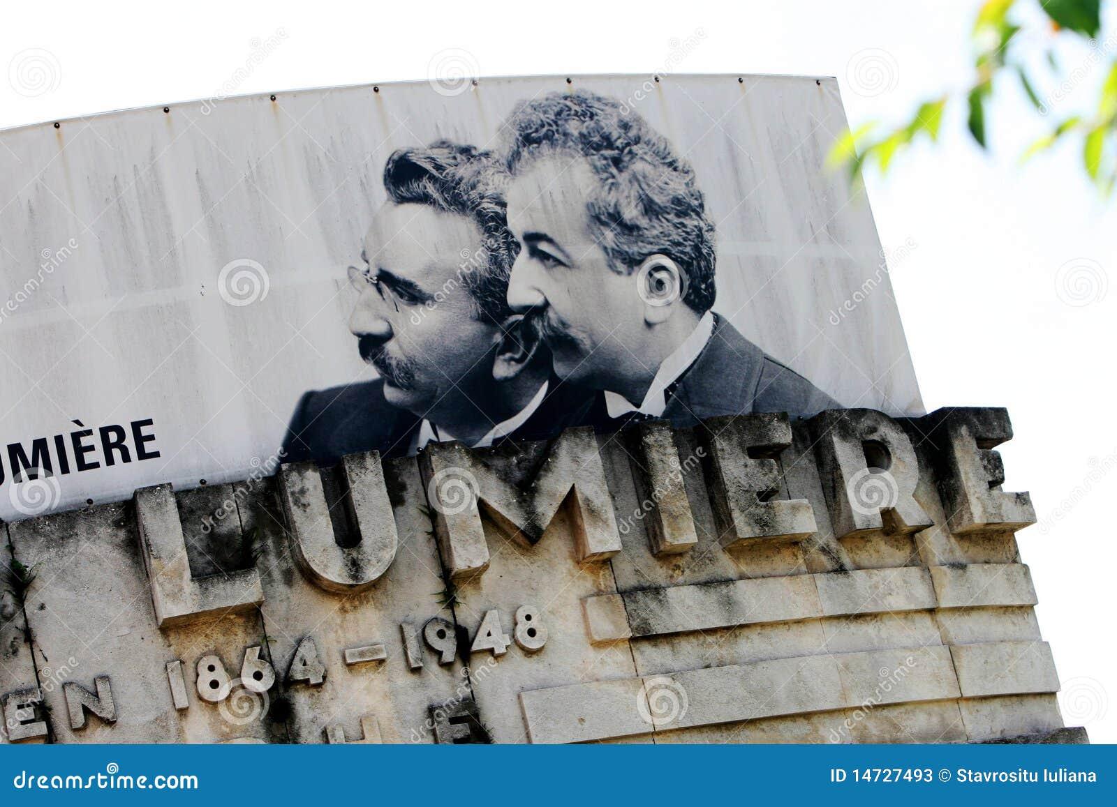 Auguste y Louis Lumiere