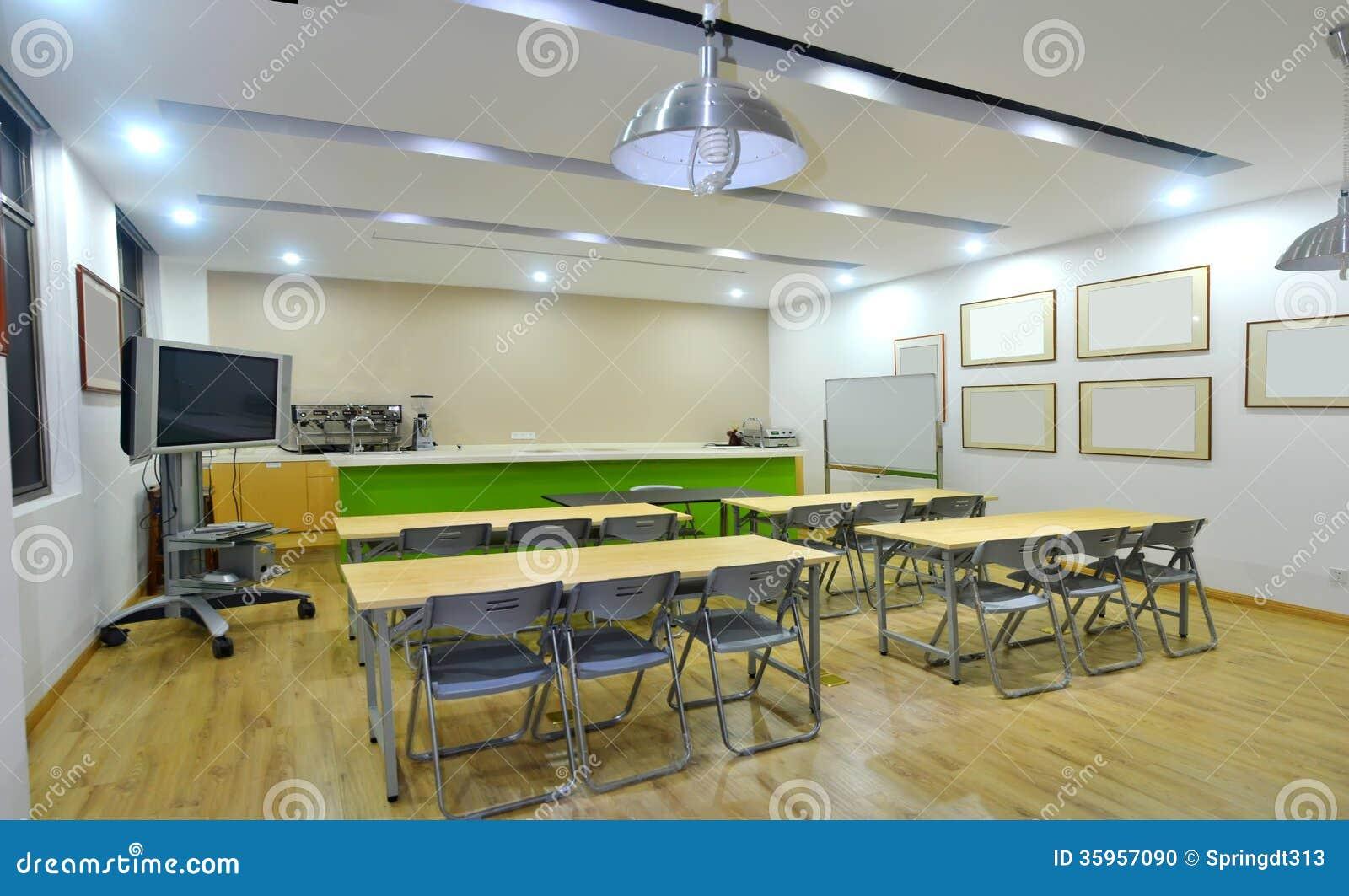 Aula della stanza di addestramento