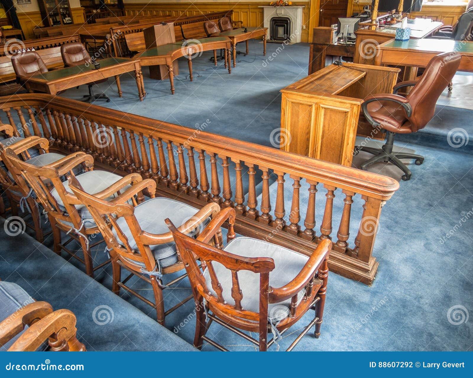 Aula di tribunale, tribunale della contea di Storey