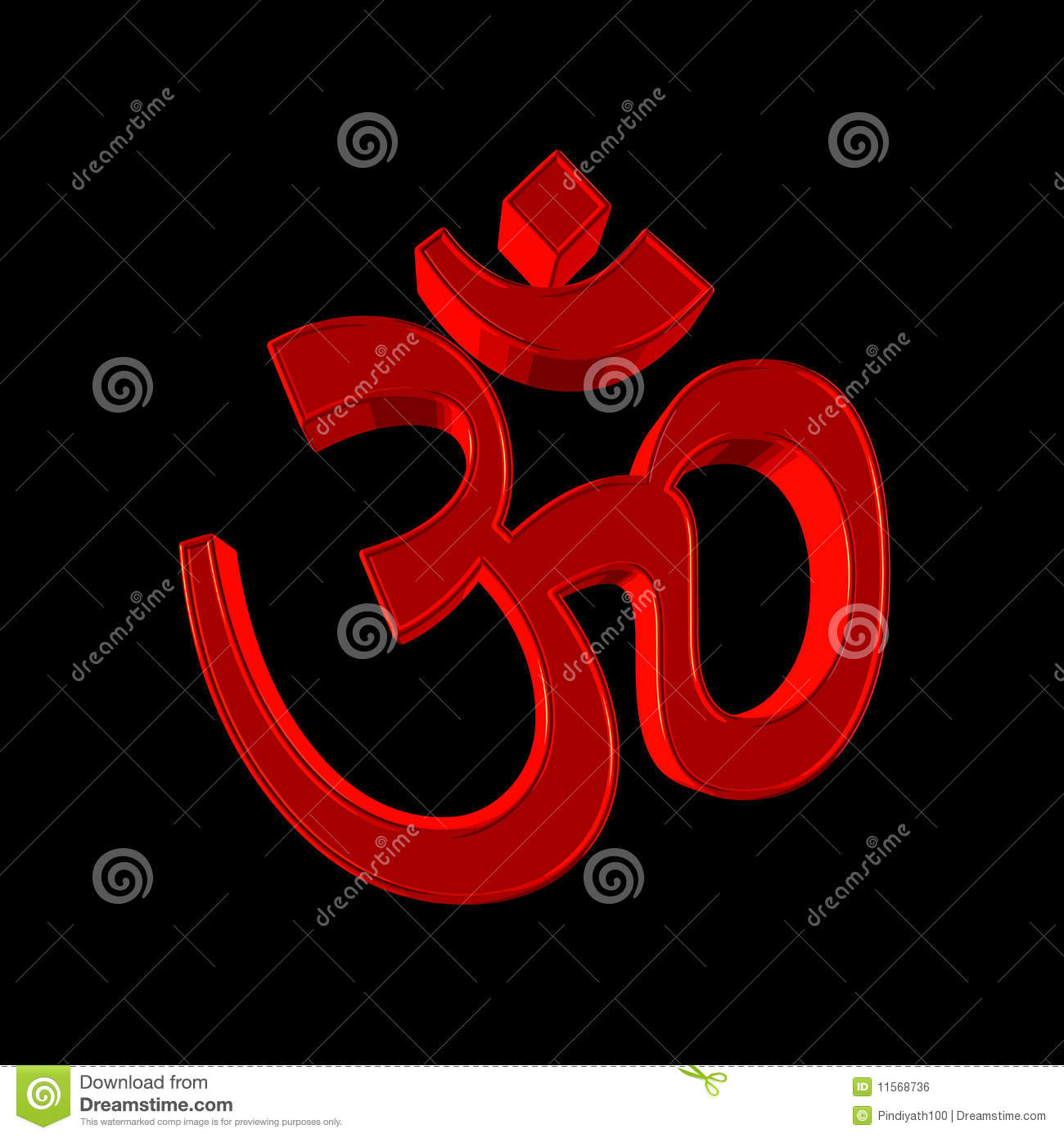 Aum Om Sign Royalty Free Stock Image Image 11568736