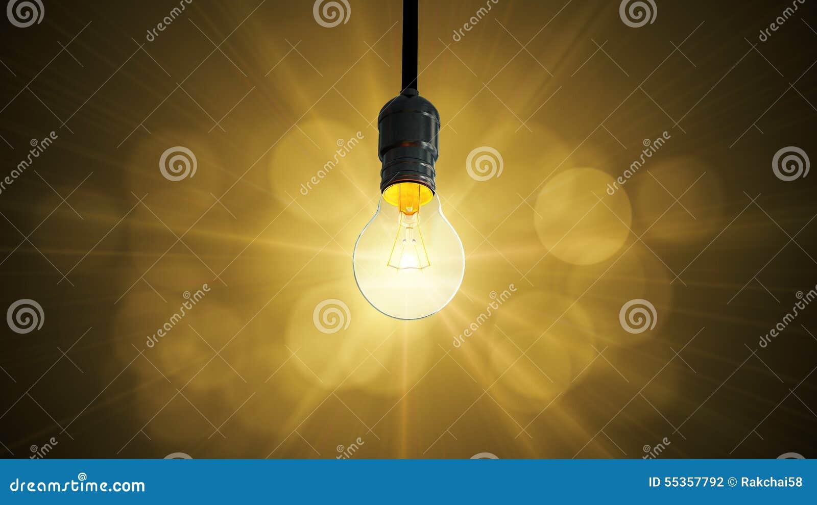 Aumento di incandescenza dell oscillazione della lampadina,