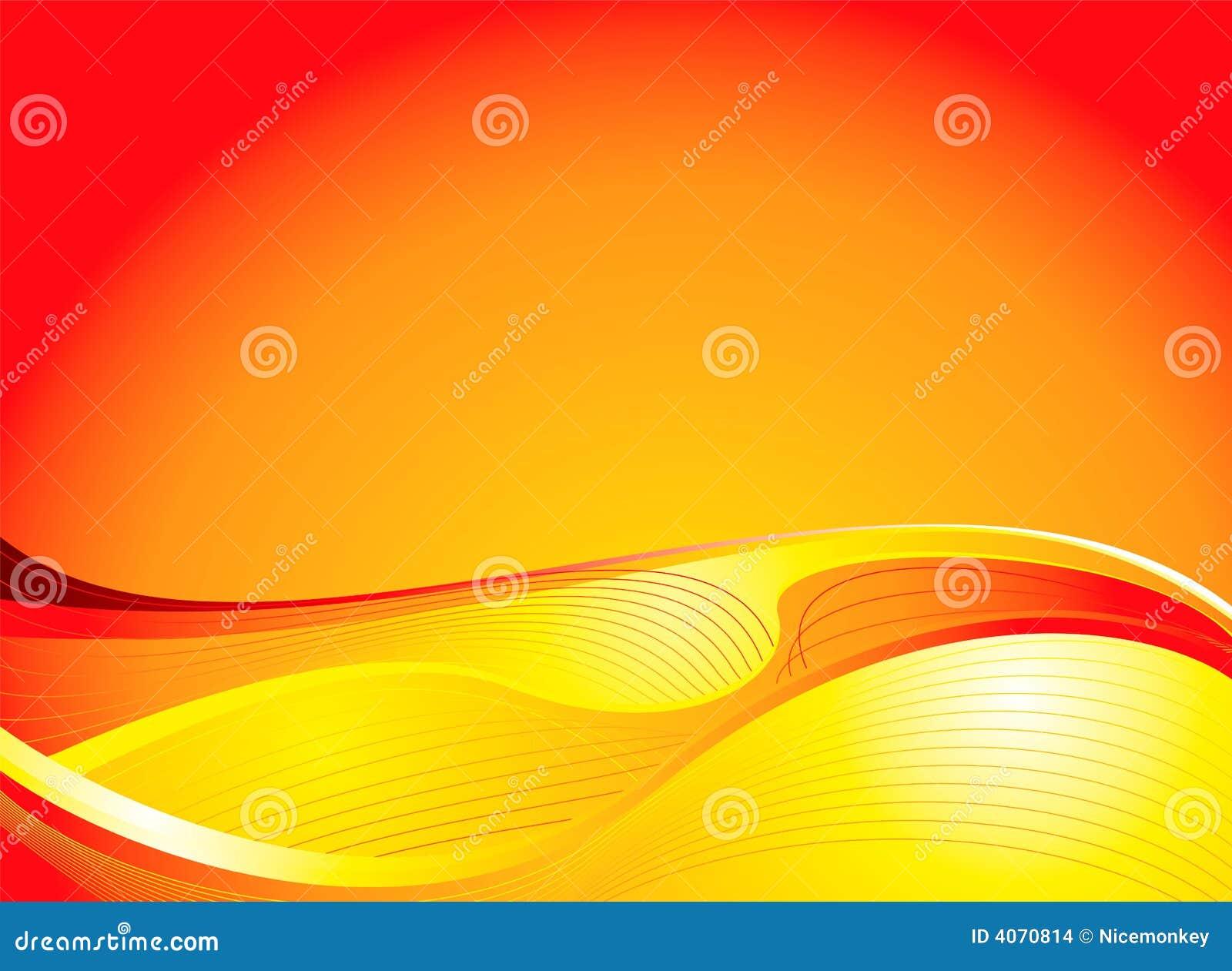 Aumento dorato del sole
