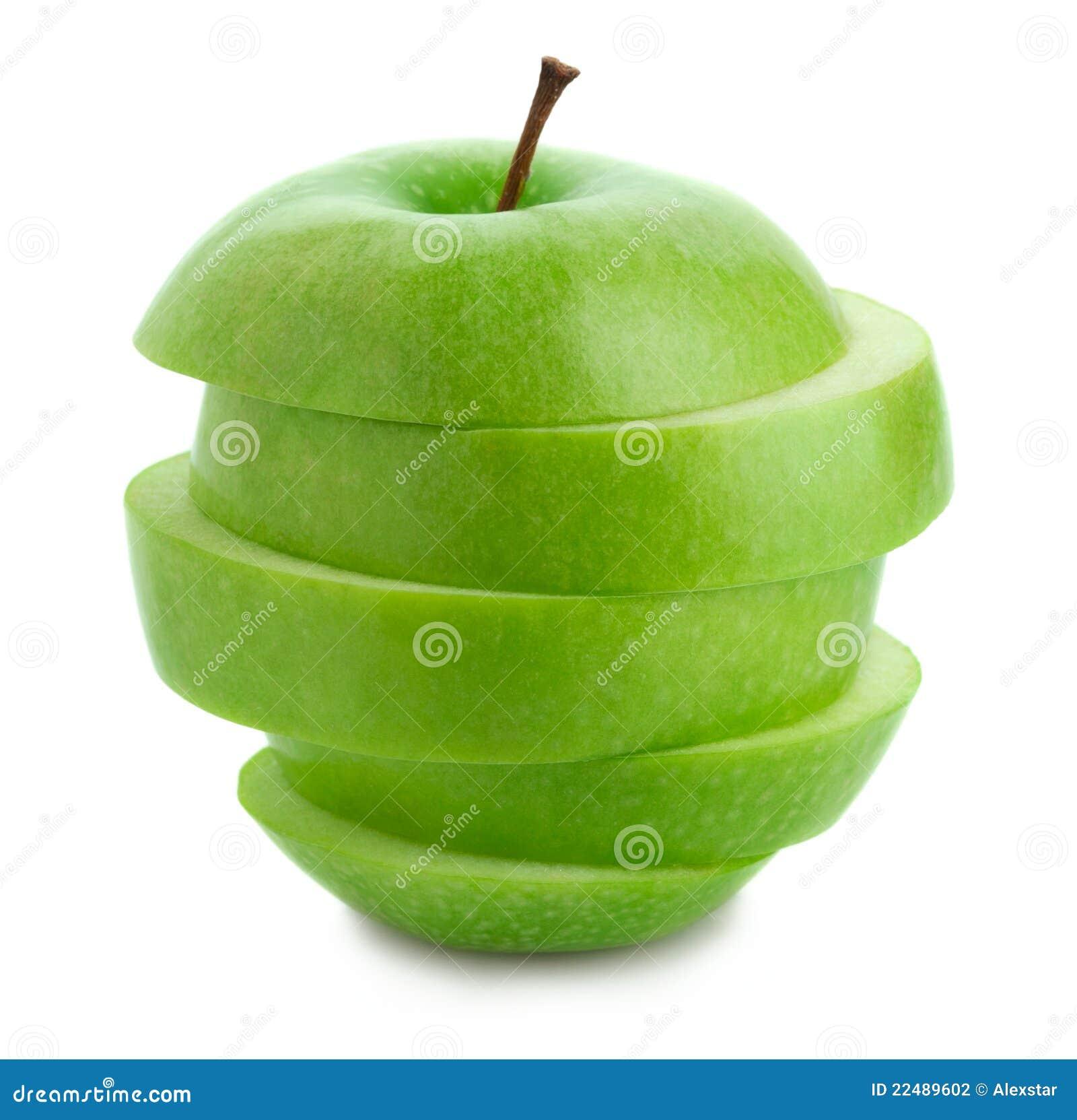 äpple - skivad green