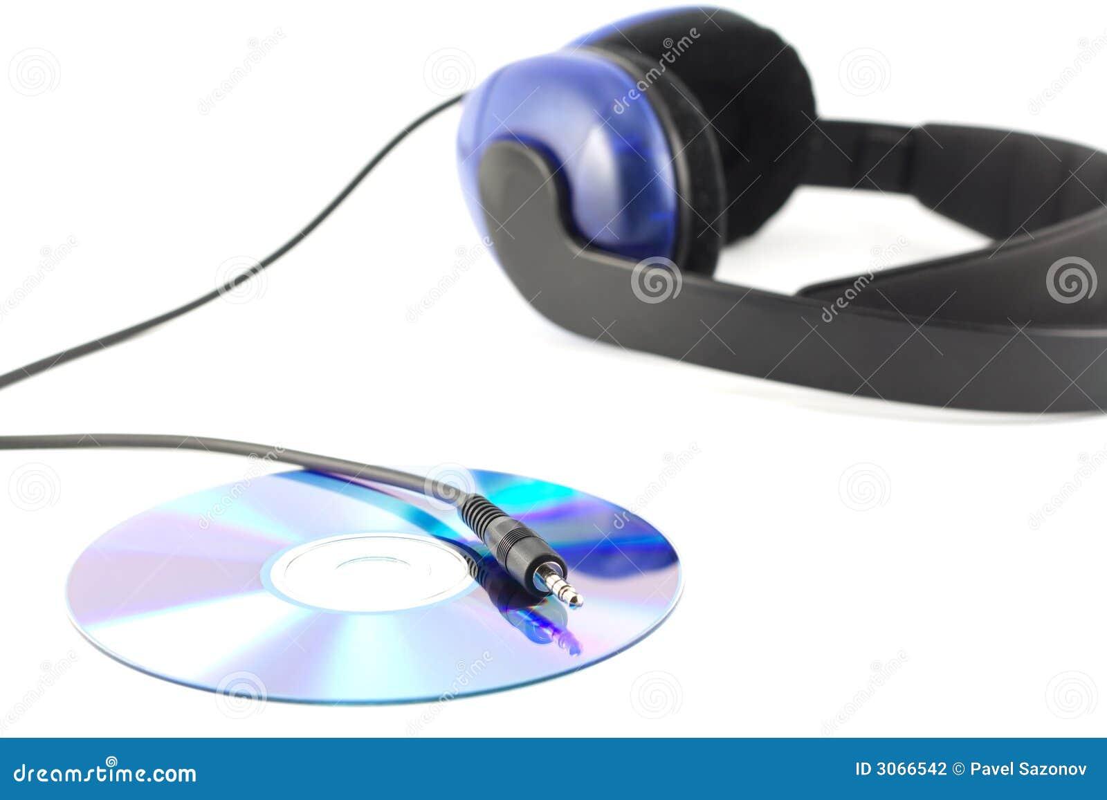 Auriculares con Cd