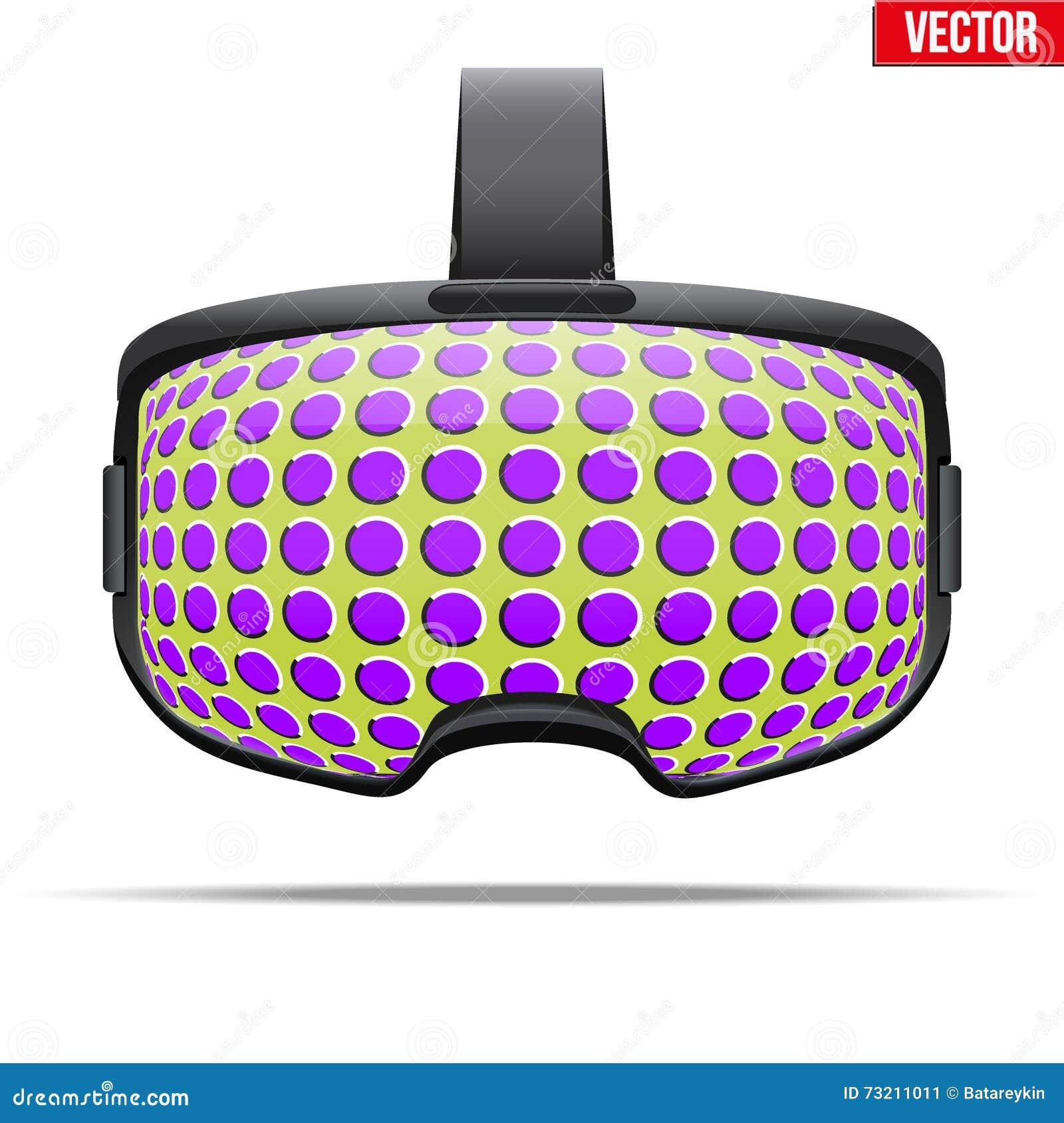 Auriculares estereoscopicamente originais de 3d VR