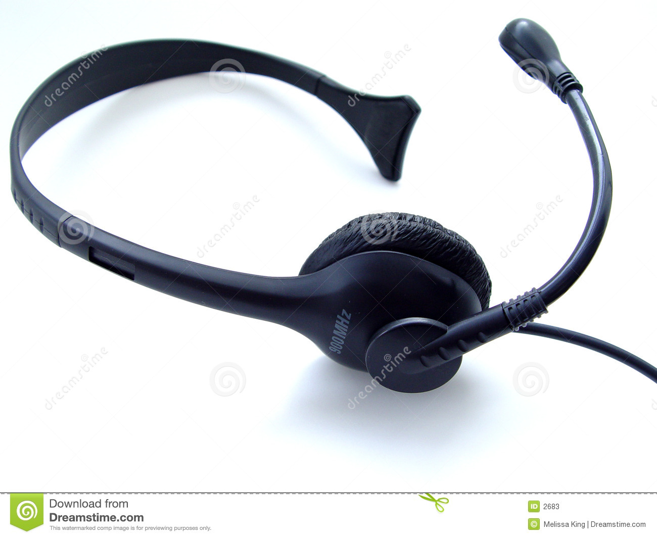 Auriculares isolados