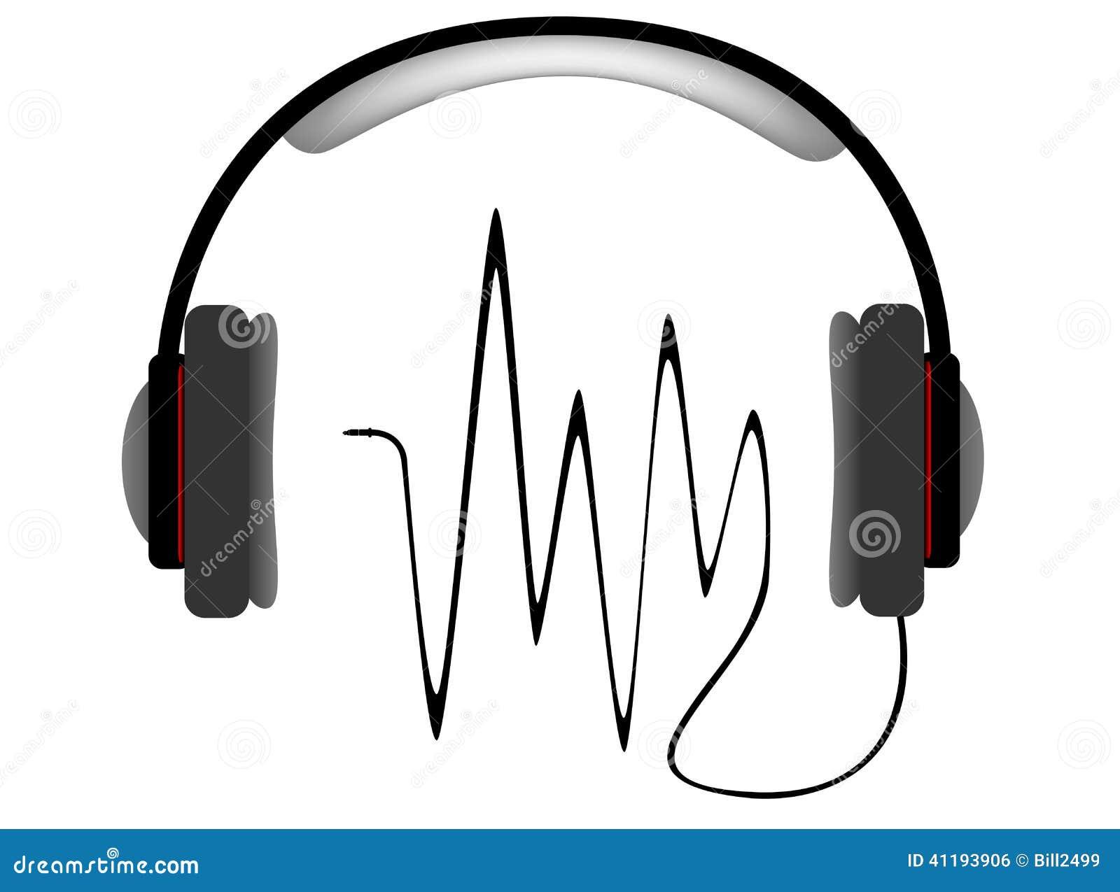 Auriculares musicales con el equalizador