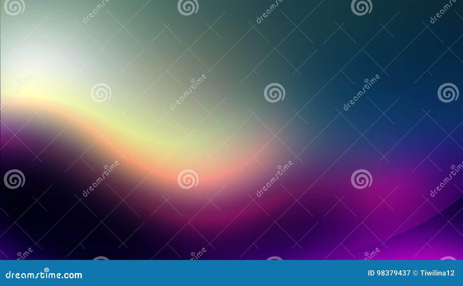 Aurora Background Purple Effect