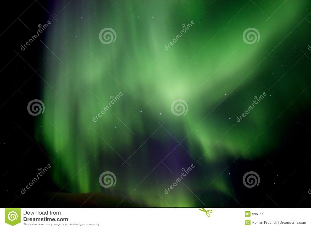 Aurora big borealis constellation dipper overhead